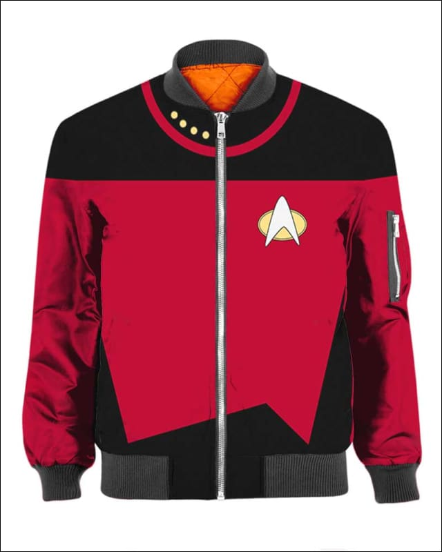 Captain Picard Costume - All Over Apparel - Hoodie / S - www.secrettees.com