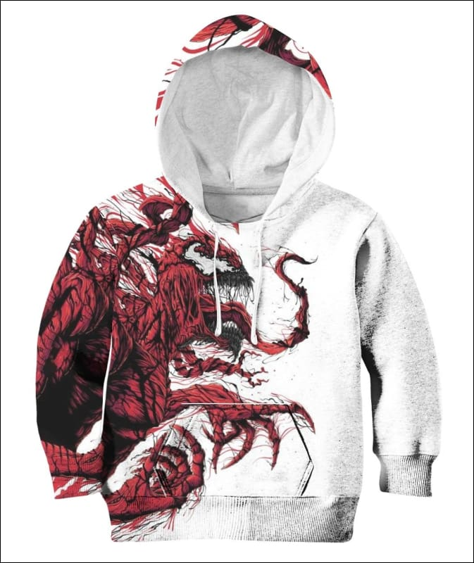 Carnage 3D - All Over Apparel - Hoodie / S - www.secrettees.com
