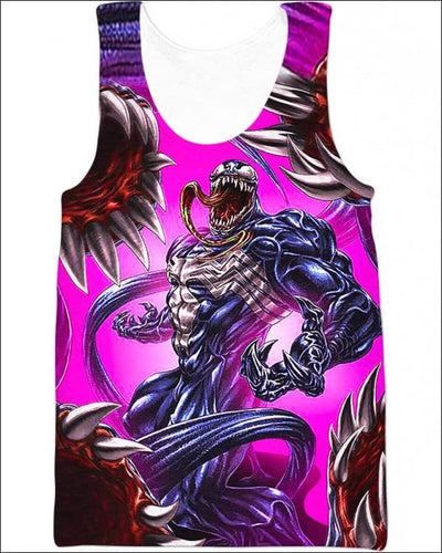 Carnivorous Tentacles - All Over Apparel - Tank Top / S - www.secrettees.com