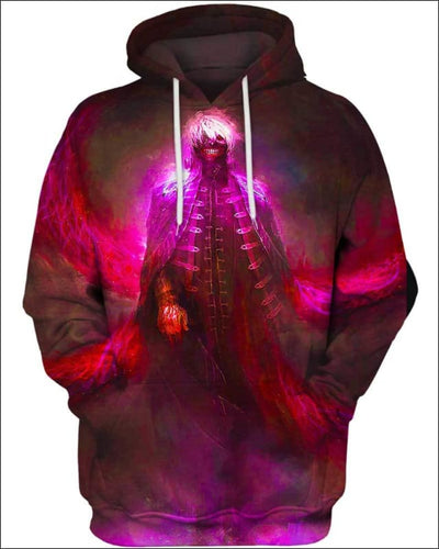 Centipede Ghost - All Over Apparel - Hoodie / S - www.secrettees.com