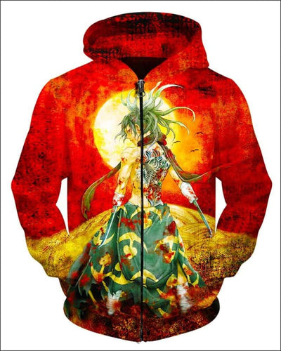Child Of Darkness - All Over Apparel - Zip Hoodie / S - www.secrettees.com