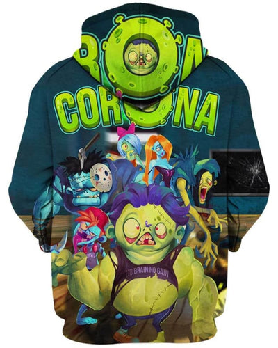 Corona Zombie - All Over Apparel - www.secrettees.com