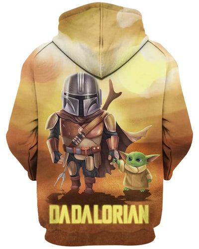 Dadalorian - All Over Apparel - www.secrettees.com