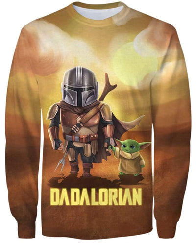 Dadalorian - All Over Apparel - Sweatshirt / S - www.secrettees.com