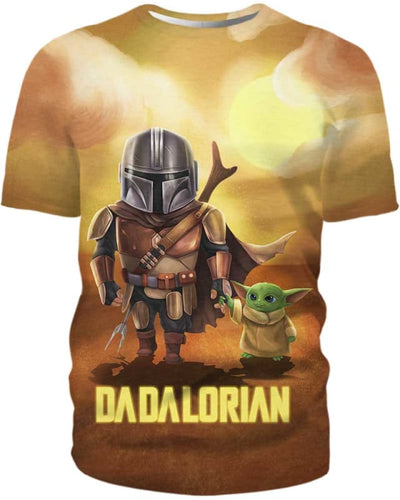 Dadalorian - All Over Apparel - T-Shirt / S - www.secrettees.com