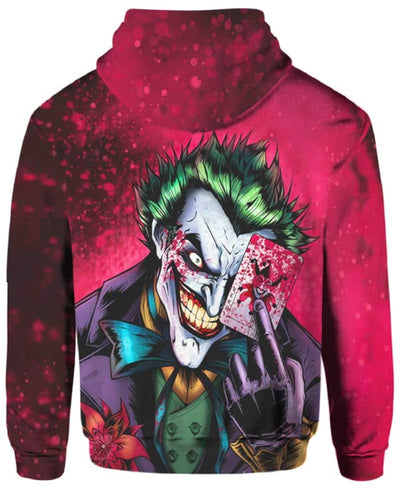 Dark Knight Joker - All Over Apparel - www.secrettees.com