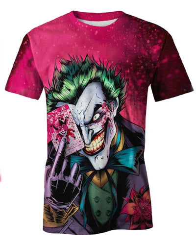 Dark Knight Joker - All Over Apparel - T-Shirt / S - www.secrettees.com
