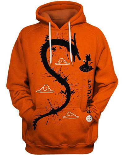 Dragon God - All Over Apparel - Hoodie / S - www.secrettees.com