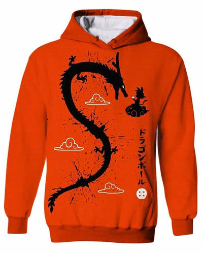 Dragon God - All Over Apparel - Kid Hoodie / S - www.secrettees.com