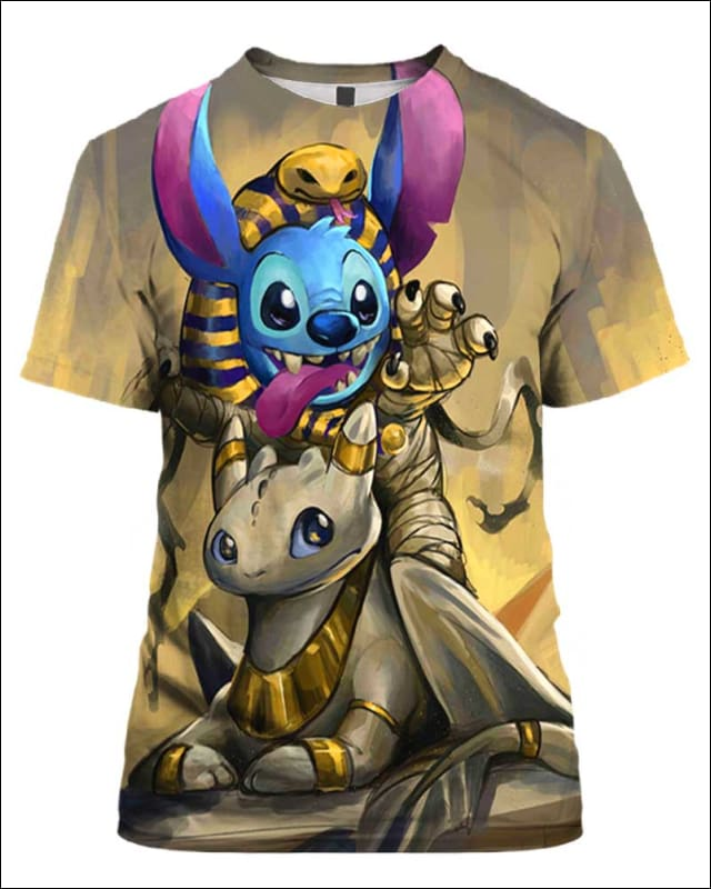Egypt Cute Stitch - All Over Apparel - Hoodie / S - www.secrettees.com