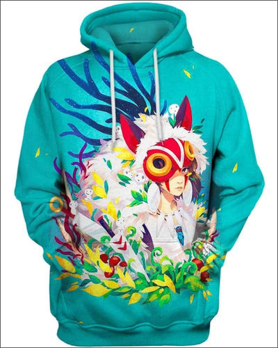 Forest Warrior - All Over Apparel - Hoodie / S - www.secrettees.com
