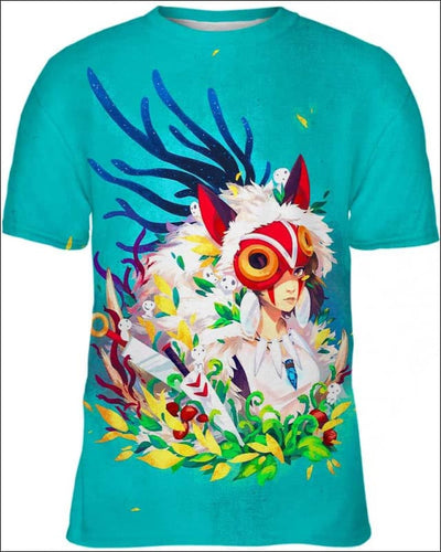 Forest Warrior - All Over Apparel - Kid Tee / S - www.secrettees.com