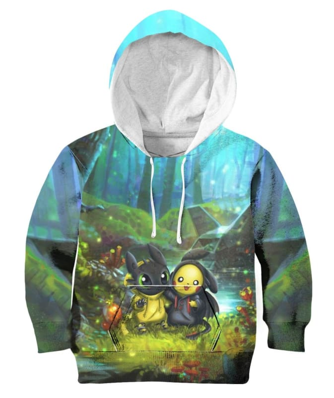 Friendship Forest - All Over Apparel - Hoodie / S - www.secrettees.com