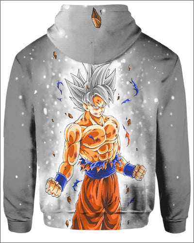 Goku Ultra instinct - All Over Apparel - www.secrettees.com