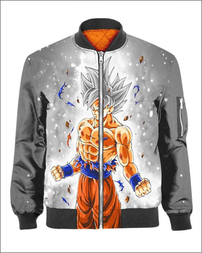 Goku Ultra instinct - All Over Apparel - Bomber / S - www.secrettees.com