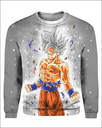 Goku Ultra instinct - All Over Apparel - Sweatshirt / S - www.secrettees.com