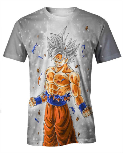 Goku Ultra instinct - All Over Apparel - T-Shirt / S - www.secrettees.com