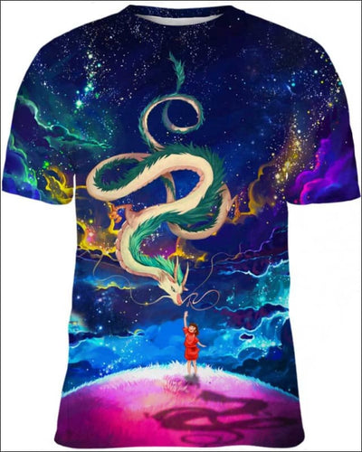 Haku_Colorfull Night - All Over Apparel - Kid Tee / S - www.secrettees.com