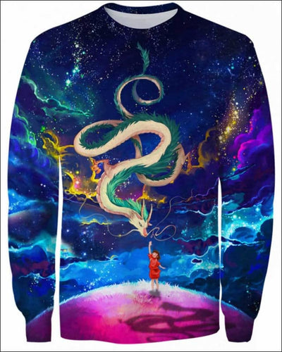 Haku_Colorfull Night - All Over Apparel - Sweatshirt / S - www.secrettees.com