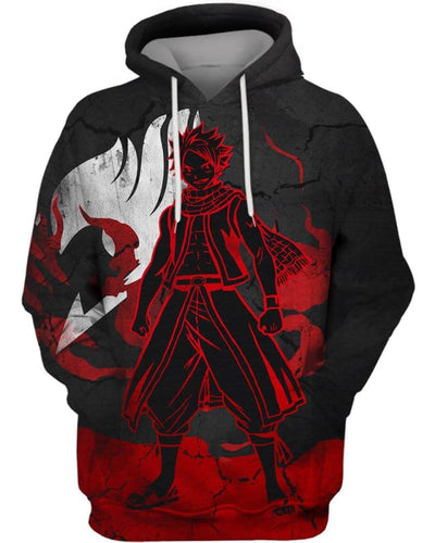 Heroic Dragneel - All Over Apparel - Hoodie / S - www.secrettees.com