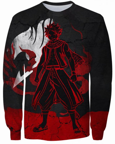 Heroic Dragneel - All Over Apparel - Sweatshirt / S - www.secrettees.com