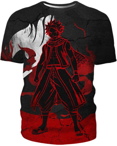 Heroic Dragneel - All Over Apparel - T-Shirt / S - www.secrettees.com