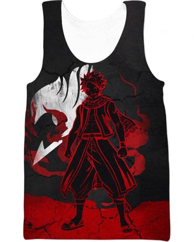 Heroic Dragneel - All Over Apparel - Tank Top / S - www.secrettees.com