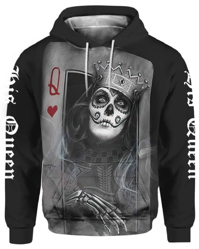 His Queen Skull Poker