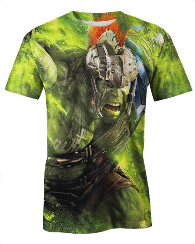 Hulk Ragnarok - All Over Apparel - Hoodie / S - www.secrettees.com