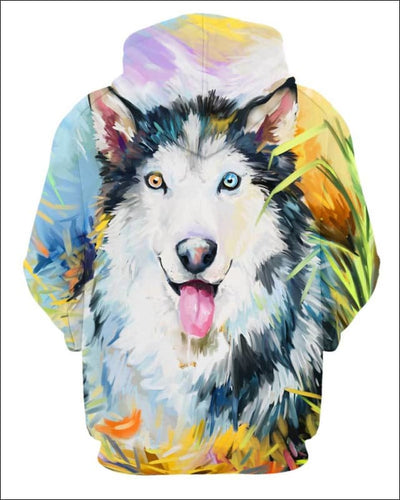 Husky Arylic Art - All Over Apparel - www.secrettees.com