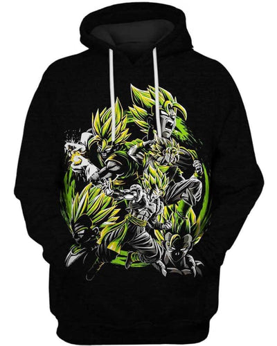 Instinct Transformation - All Over Apparel - Hoodie / S - www.secrettees.com