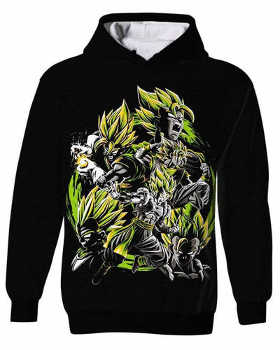 Instinct Transformation - All Over Apparel - Kid Hoodie / S - www.secrettees.com