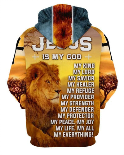 Jesus is my everything - All Over Apparel - www.secrettees.com