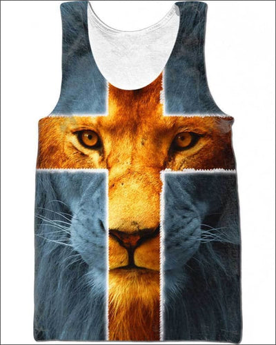 Jesus is my everything - All Over Apparel - Tank Top / S - www.secrettees.com