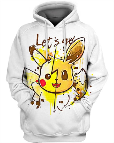 Let's Go - All Over Apparel - Hoodie / S - www.secrettees.com