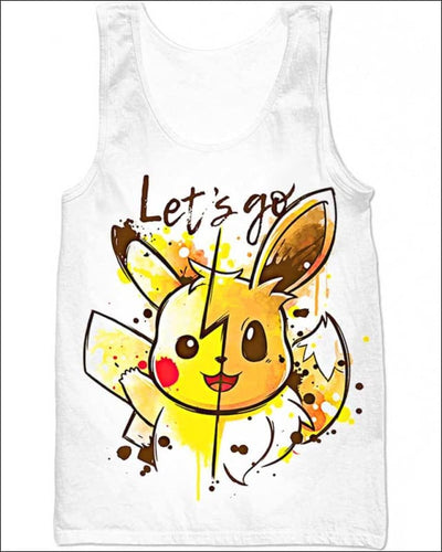 Let's Go - All Over Apparel - Tank Top / S - www.secrettees.com