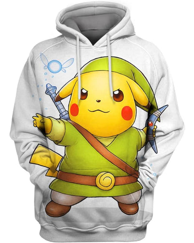 Linkachu - All Over Apparel - Hoodie / S - www.secrettees.com
