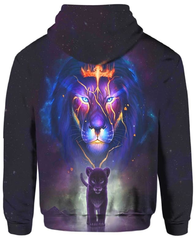 Lion Crown - All Over Apparel - Hoodie / S - www.secrettees.com