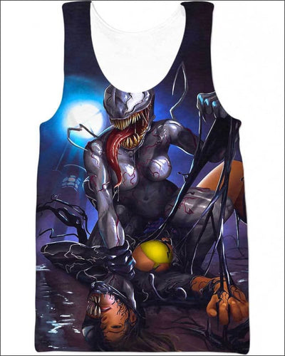 Murdered - All Over Apparel - Tank Top / S - www.secrettees.com