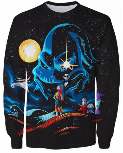 Nightmare Concept GOT - All Over Apparel - Sweatshirt / S - www.secrettees.com