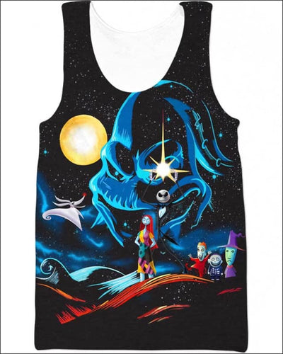 Nightmare Concept GOT - All Over Apparel - Tank Top / S - www.secrettees.com