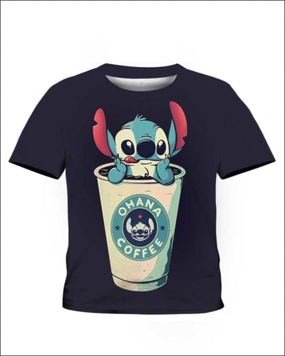 Ohana Coffee - All Over Apparel - Kid Tee / S - www.secrettees.com
