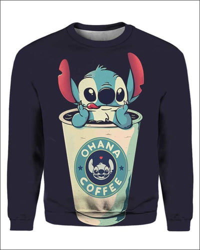 Ohana Coffee - All Over Apparel - Sweatshirt / S - www.secrettees.com