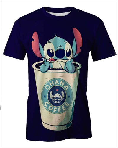 Ohana Coffee - All Over Apparel - T-Shirt / S - www.secrettees.com