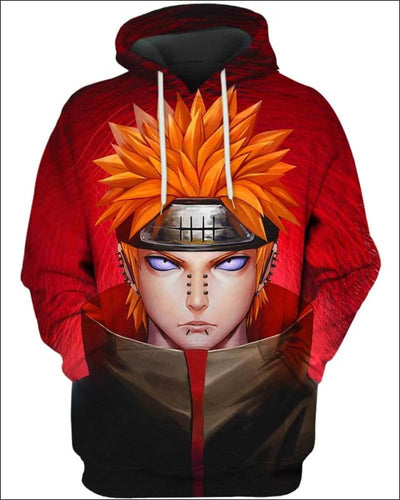 Pain Nagato - All Over Apparel - Hoodie / S - www.secrettees.com