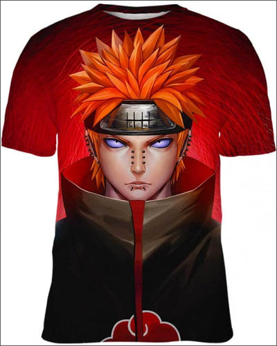 Pain Nagato - All Over Apparel - T-Shirt / S - www.secrettees.com
