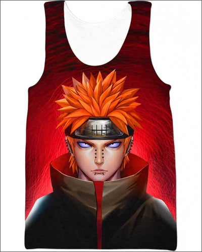 Pain Nagato - All Over Apparel - Tank Top / S - www.secrettees.com