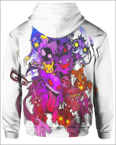 Pokemon Ghosts - All Over Apparel - www.secrettees.com