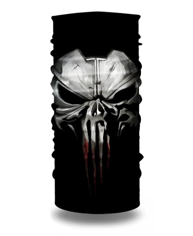 Punisher 3D Iron Mask Neck Gaiter Bandana