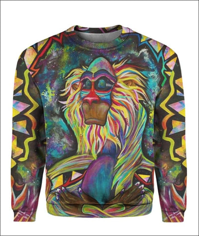 Rafiki Zen - All Over Apparel - Sweatshirt / S - www.secrettees.com
